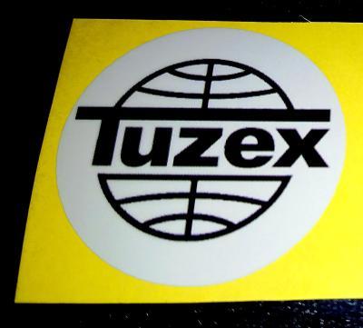 TUZEX, 1ks samolepka pr.4, dle foto (1x).