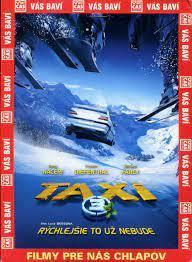Taxi 3 - DVD pošetka
