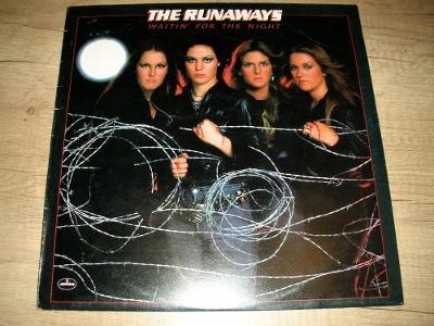The Runaways – Waitin' For The Night (1977) UK 1.Press , TOP STAV!!!