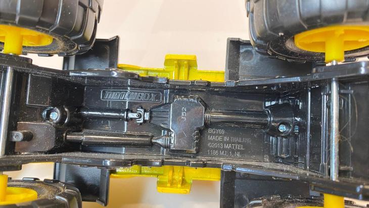 Matchbox z části železný typ BGY69 - Modelářství