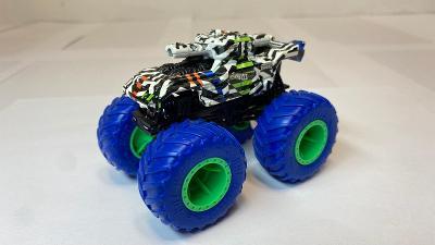 Hotwheels Monstertruck tygrovaný motiv 1:64