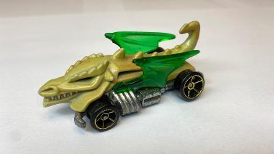 Hot Wheels Dragon Blaster z edice color shifters 1:64 Hotwheels