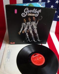 💥 LP: CREAM - GOODBYE, deska jako nová MINT!, 1.vyd orig England 1969