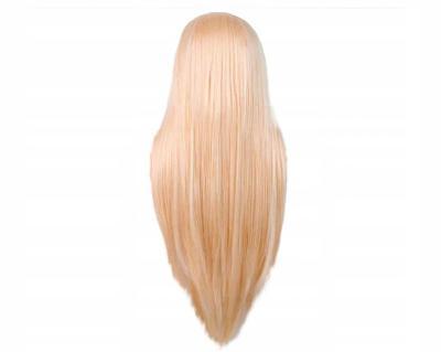 Dámská paruka blond dlouhá 0353