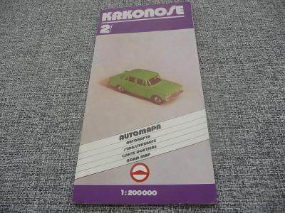 Automapa  KRKONOŠE - rok 1991