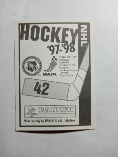 Panini NHL 97-98 - Sportovní sbírky