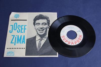 singl gramofonová deska Josef Zíma   VÍC V POPISU