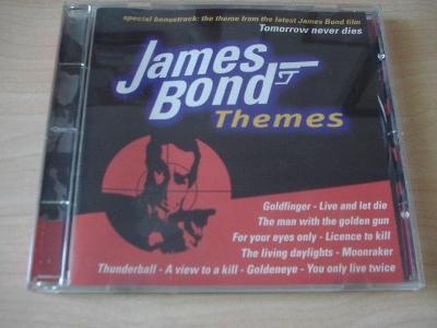 CD JAMES BOND 007 - JAMES BOND THEMES.  HUDBA Z BONDOVEK