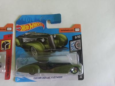 Hot Wheels autíčko CUSTOM CADILLAC FLEETWOOD