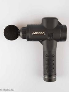 Perkusní masážní pistole Ansgec MG1/ 8 hlavic/ 30 rychlostí/ Od 1Kč