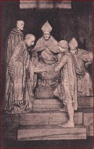 Náboženský motiv * Jana z Arku, papež, žena, socha, umělecká * X188