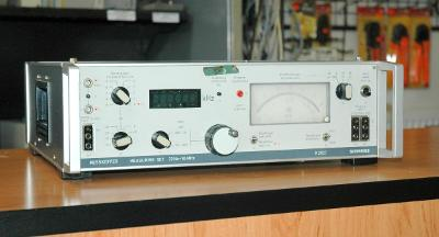 Siemens K2027, generátor a měřič úrovně, 30Hz - 1,6 MHz
