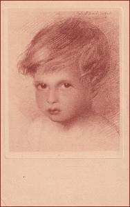 Děti * hlavička, portrét, studie, umělecká * X212