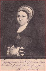 Žena * portrét, čepec, šlechtic, umělecká * X223