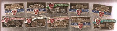 GAZ / Rusko SSSR / auto moto / nesehnatelné odznaky / krásná sbírka
