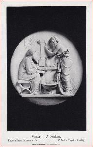 Socha (umělecká plastika) * žena, muž, kočka, postava * X227
