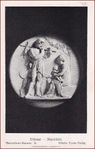 Socha (umělecká plastika) * žena, muž, hroznové víno, děti * X228
