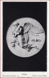 Socha (umělecká plastika) * žena, děti, anděl, náboženský motiv * X230