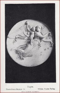 Socha (umělecká plastika) * žena, děti, anděl, náboženský motiv * X231