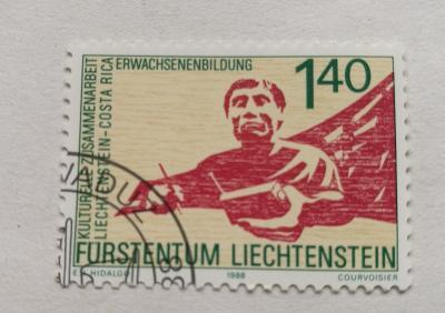 Známka - Lichtenštejnsko