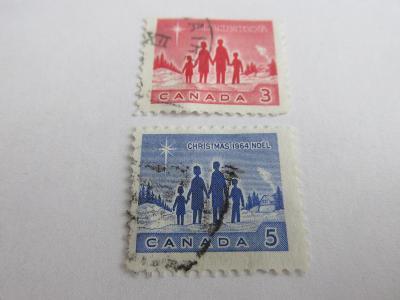 Známky  Kanada 1964,  Vánoce 64 - Rodiny