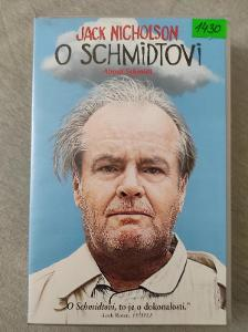 VHS O Schmidtovi Jack Nicholson