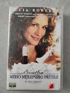 VHS Svatba mého nejlepšího přítele