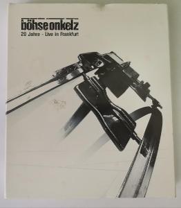 2CD + 2DVD Bohse Onkelz - 20 Jahre - Live In Frankfurt 2001 digipack