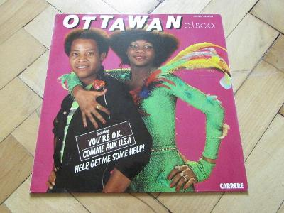 LP vinyl deska OTTAWAN  DISCO 1980