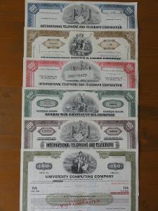 Balíček amerických akcií pro sběratele I.