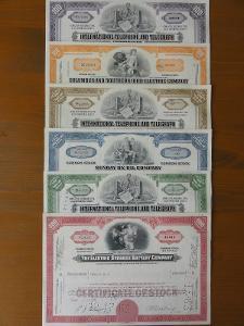 Balíček amerických akcií pro sběratele V.