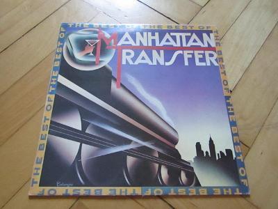 LP vinyl deska MANHATAN TRANSFER 1984