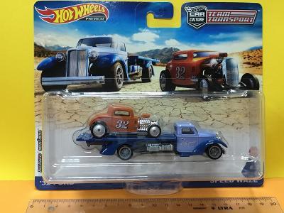 '32 Ford + Speed Waze - Hot Wheels Team Transport #32
