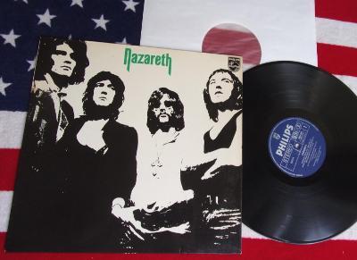 💥 LP: NAZARETH - NAZARETH, jako nová NM, 1.vyd. West Germany 1971