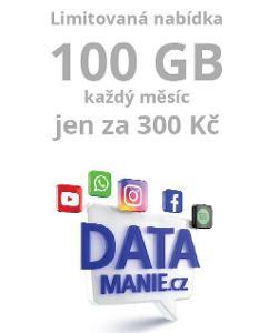 SIM 02 DATAMANIE.CZ 100GB