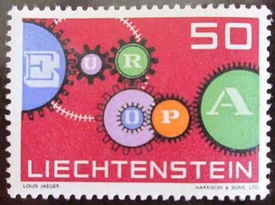 Lichtenštejnsko 1961 Evropa CEPT Mi# 414 0465