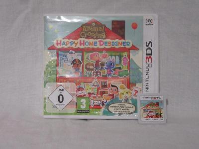 3DS Hra Animal Crossing: Happy Home Designer + Amiibo Karty !!!