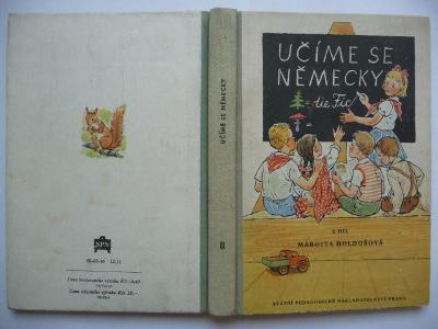 Učíme se německy - 2. díl - Margita Holdošová - SPN 1960