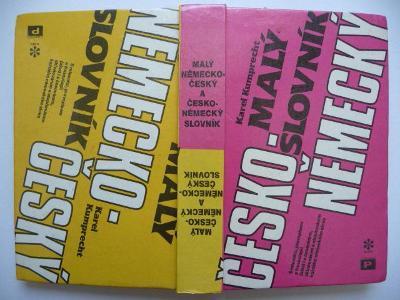 Malý česko-německý a německo-český slovník - PLUTO 1991