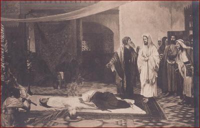 Náboženský motiv * Ježíš, svatý, smrt, lidé, umělecká * X252