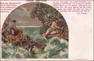 Mýtický motiv * Wilhelm Tell, legenda, historie, umělecká * X254