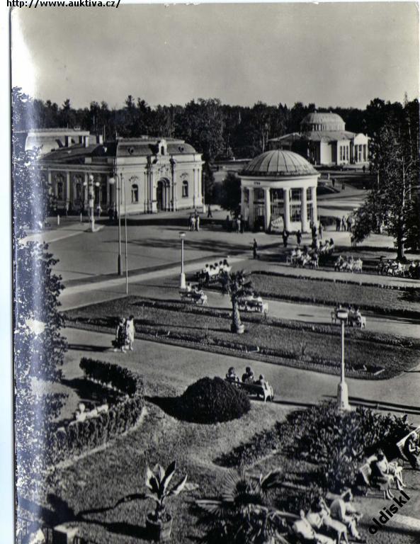 Pohled  Františkovy lázně - Pohlednice