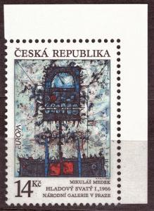 POF. 5 - HLADOVÝ SVATÝ, 1993, ROHOVÝ KUS S DV 2/A - ČERNÝ BOD (S2784)