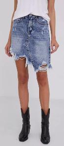 Asymetrická džínová sukně Answear Lab vel. S/M