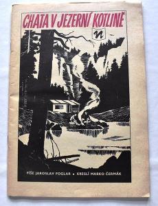 Foglar - Chata v jezerní kotlině, Komix - kreslil Marko Čermák 1969