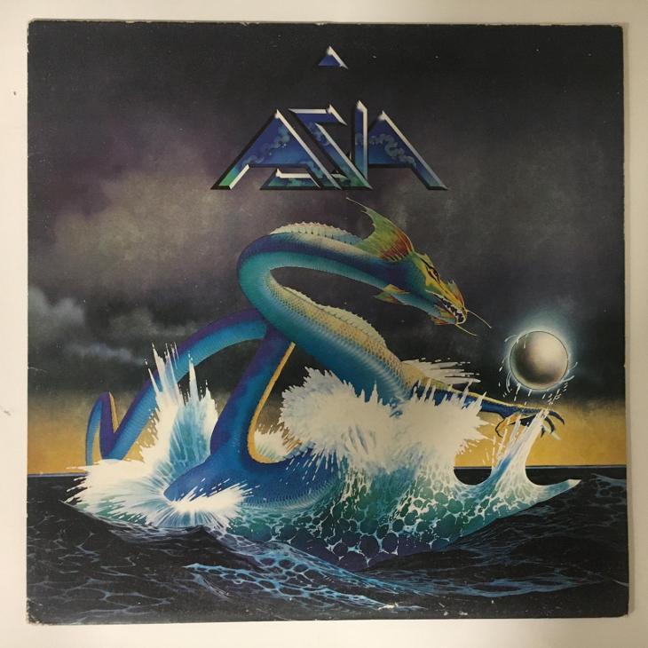 Asia – Asia - LP vinyl - Hudba