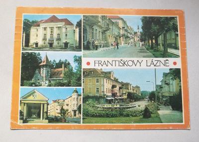 Pohled  Františkovy lázně