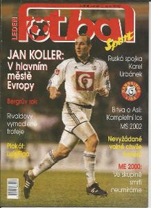 časopis Fotbal č.1/2000