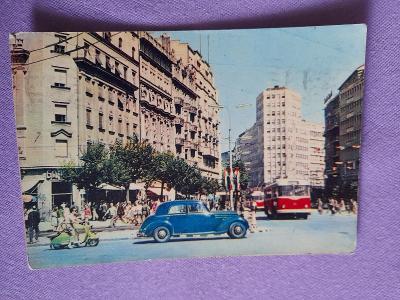 Pohlednice Beograd,prošlé poštou