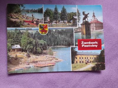 Pohlednice Žamberk - Pastviny,prošlé poštou